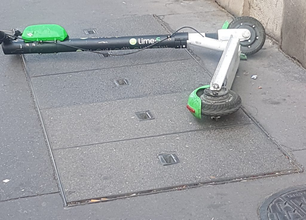 A Père-Lachaise for scooters
