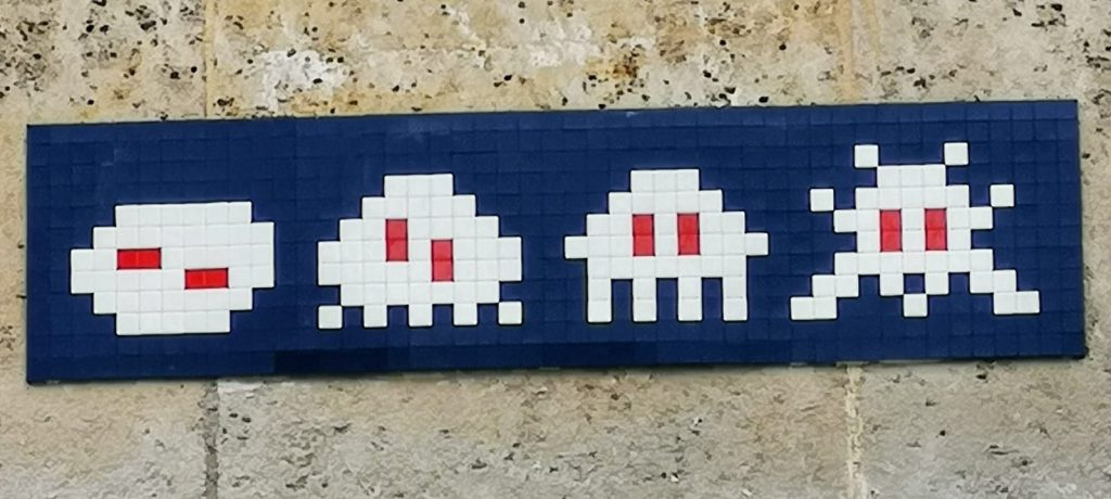 Invader Street Art